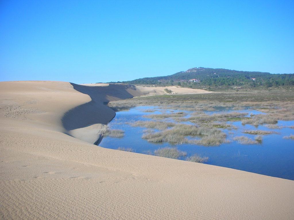 Dunas de Corrubedo. Paisajes Naturales de Galicia