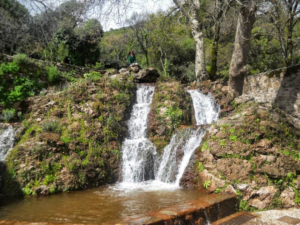 Río en Aracena