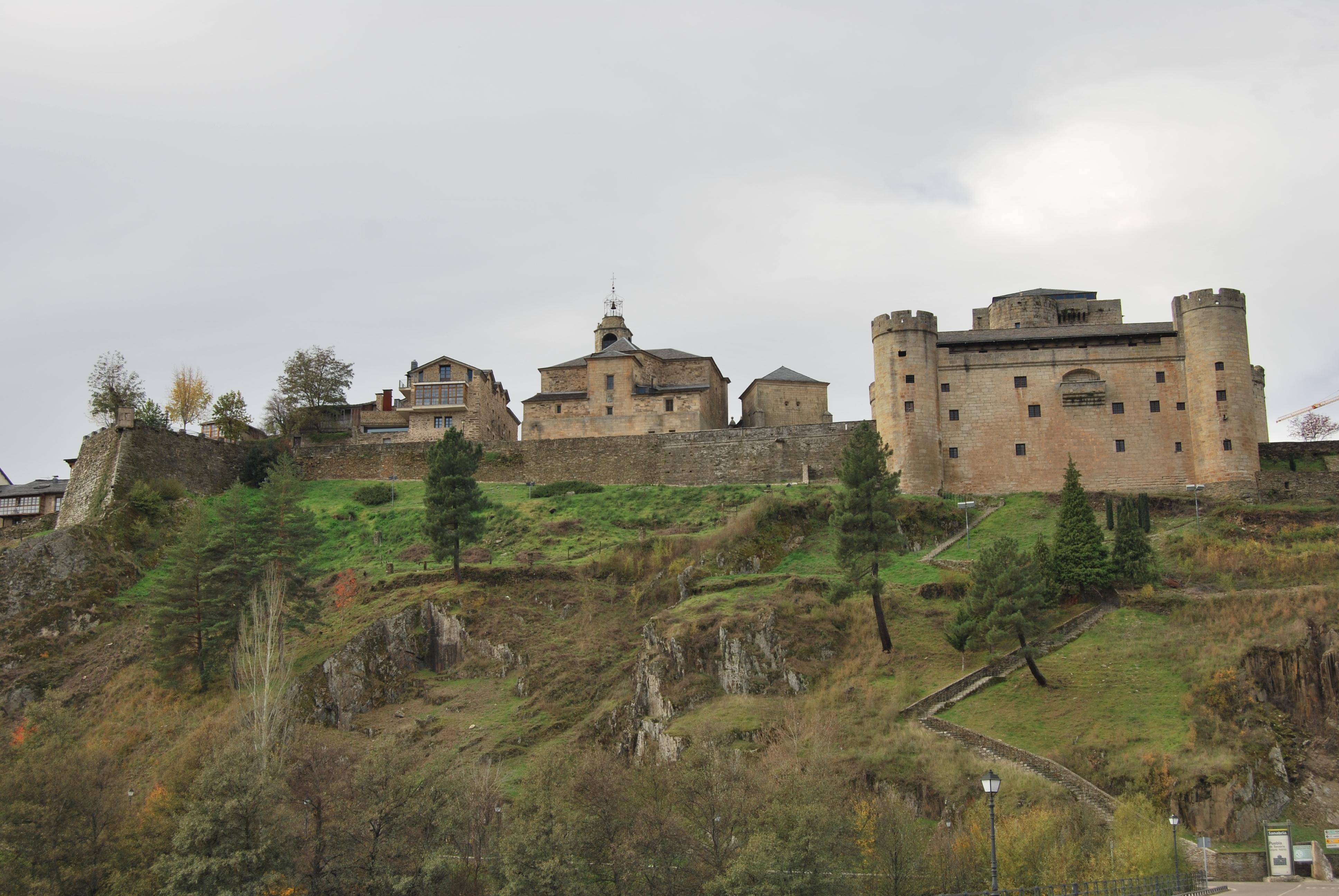 Vista de Puebla de Sanabria