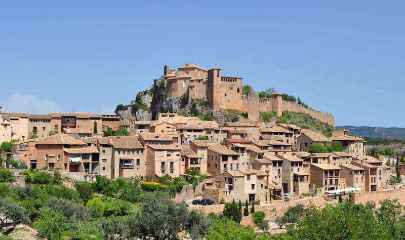 Ruta de los castillos de Huesca
