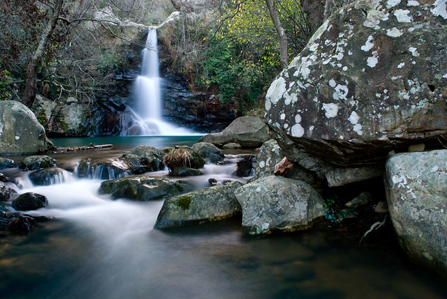 Cascada de la Garganta