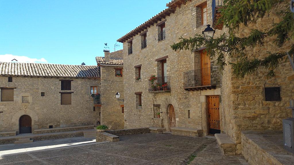 Roda de Isabena. Lugares más bonitos de Huesca